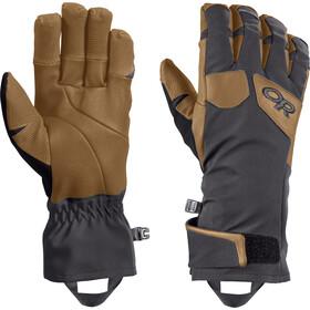 Outdoor Research Extravert Handschoenen Heren, grijs/bruin